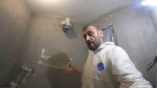 видео Подробности приклеивания потолочных плит
