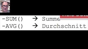 MySQL - Einfaches Rechnen (Grundrechenarten, SUM, AVG; ROUND) (deutsch)