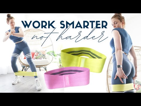 WORK SMARTER, NOT HARDER: The Science Behind My Band Workouts