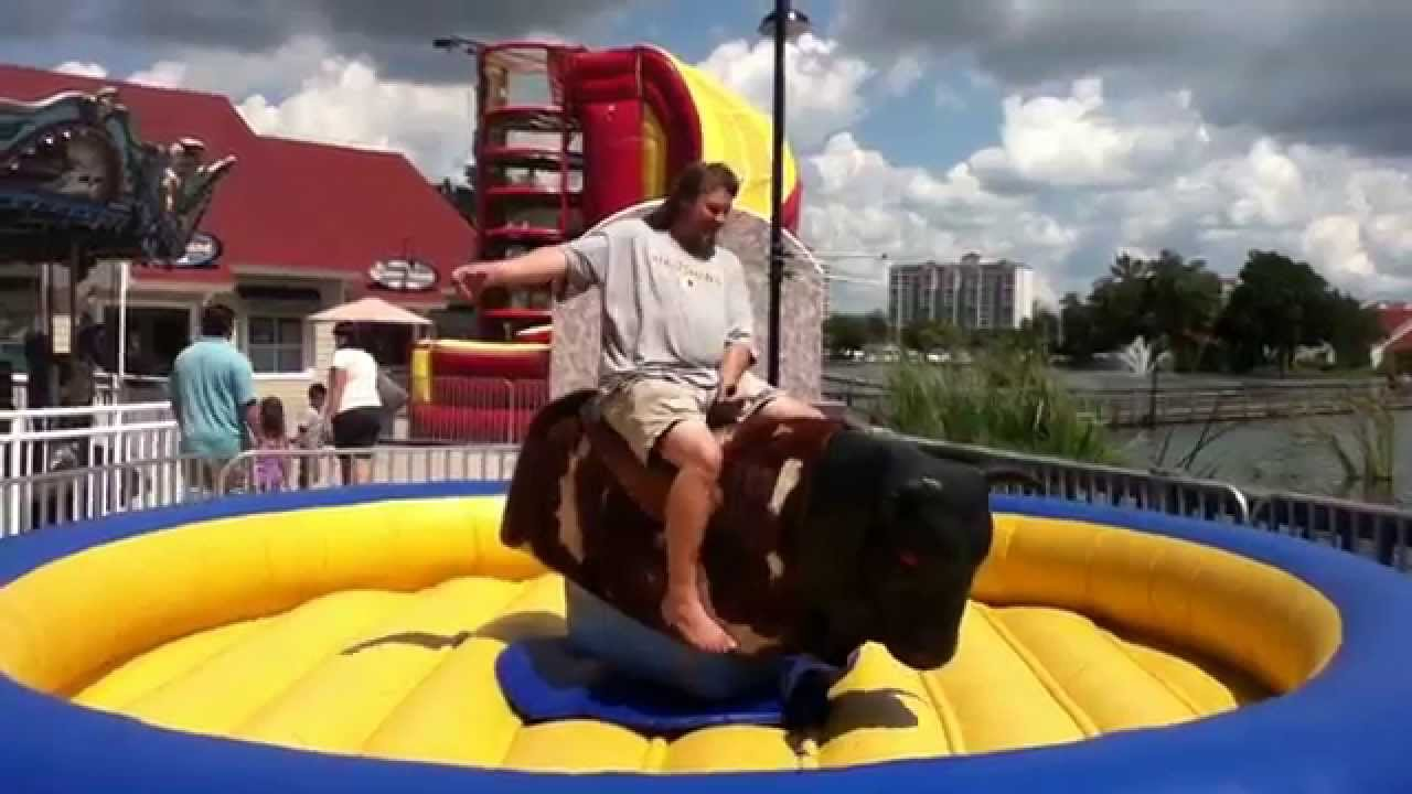riding mechanical bull  north myrtle beach sc
