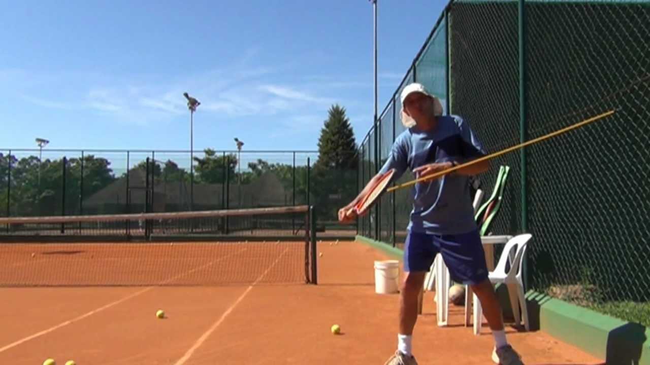 d812e90545ced Jogar tênis  Aprenda o Slice no backhand - Backhand slice technique ...
