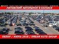 Литовский авторынок в Каунасе Обзор июнь 2018 dream auto group mp3