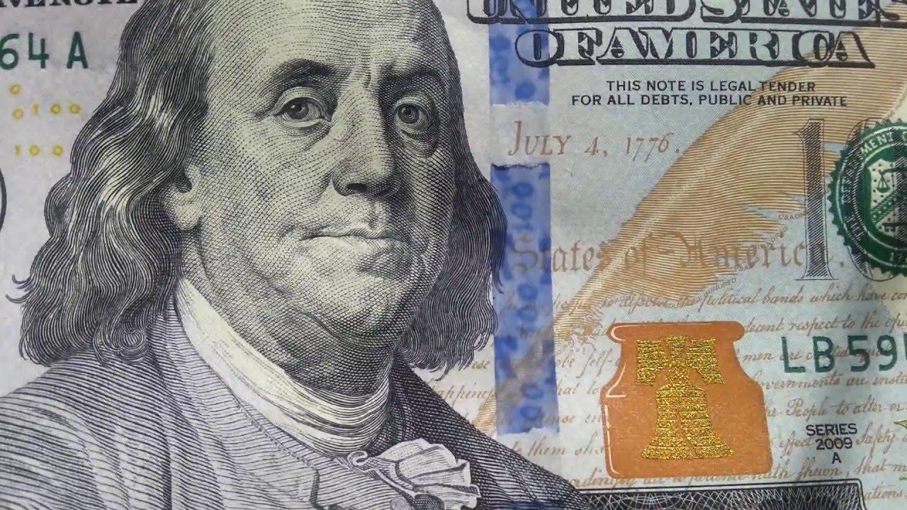 new one hundred dollar bills 100 dollars youtube