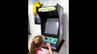 Suncoast Arcade-Galaga Machine with 412 games