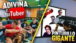 ADIVINA el YOUTUBER | PINTURILLO con LÁPIZ GIGANTE