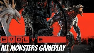 Baixar Evolve - All Monsters Gameplay & All Evolve Stages [1080p HD]