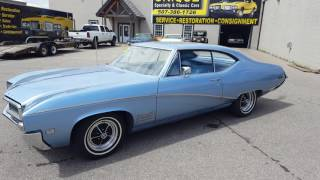 1968 Buick Skylark FOR SALE AT WWW.UNIQUECLASSICCARS.COM