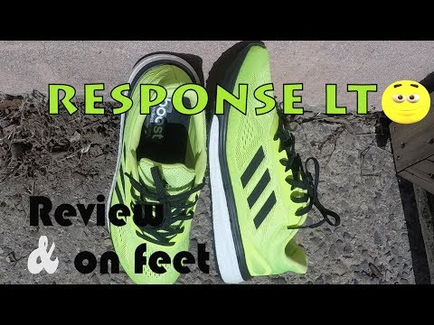 "adidas-response-lt-""cyber-yellow""-review-&-on-feet!"