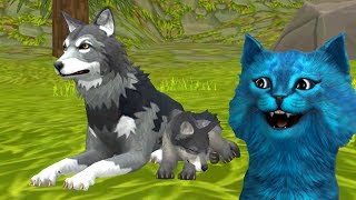 СИМУЛЯТОР МАЛЕНЬКОГО ПИТОМЦА ВОЛЧАТА Симулятор Жизни Зверей про котят и собак КОТЁНОК ЛАЙК