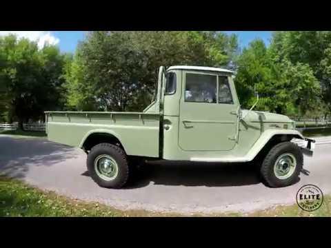 Restored 1971 Toyota Land Cruiser FJ45 Long Bed- One Owner