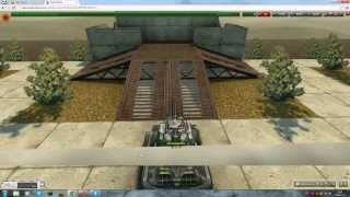 Tanki online-parkour level 3[№3]