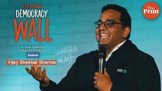McKinsey superior filter than IITs & IIMs when sending start-up pitch: Paytm's Vijay Shekhar Sharma