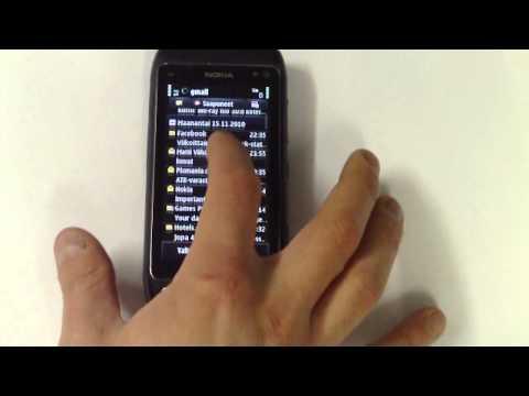 Nokia N8 - Viestit ja Sähköposti