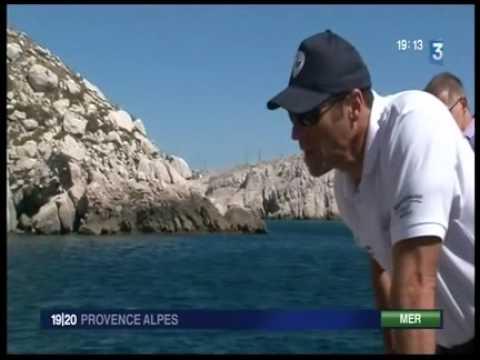 Police maritime à Marseille   Informations régionales fr3 27 07 10