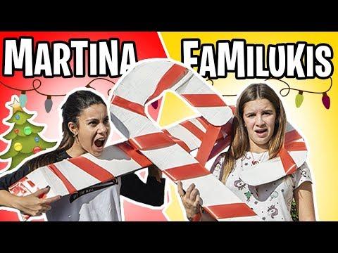 RETO NAVIDEÑO Martina VS Familukis ¿Quien ganará?