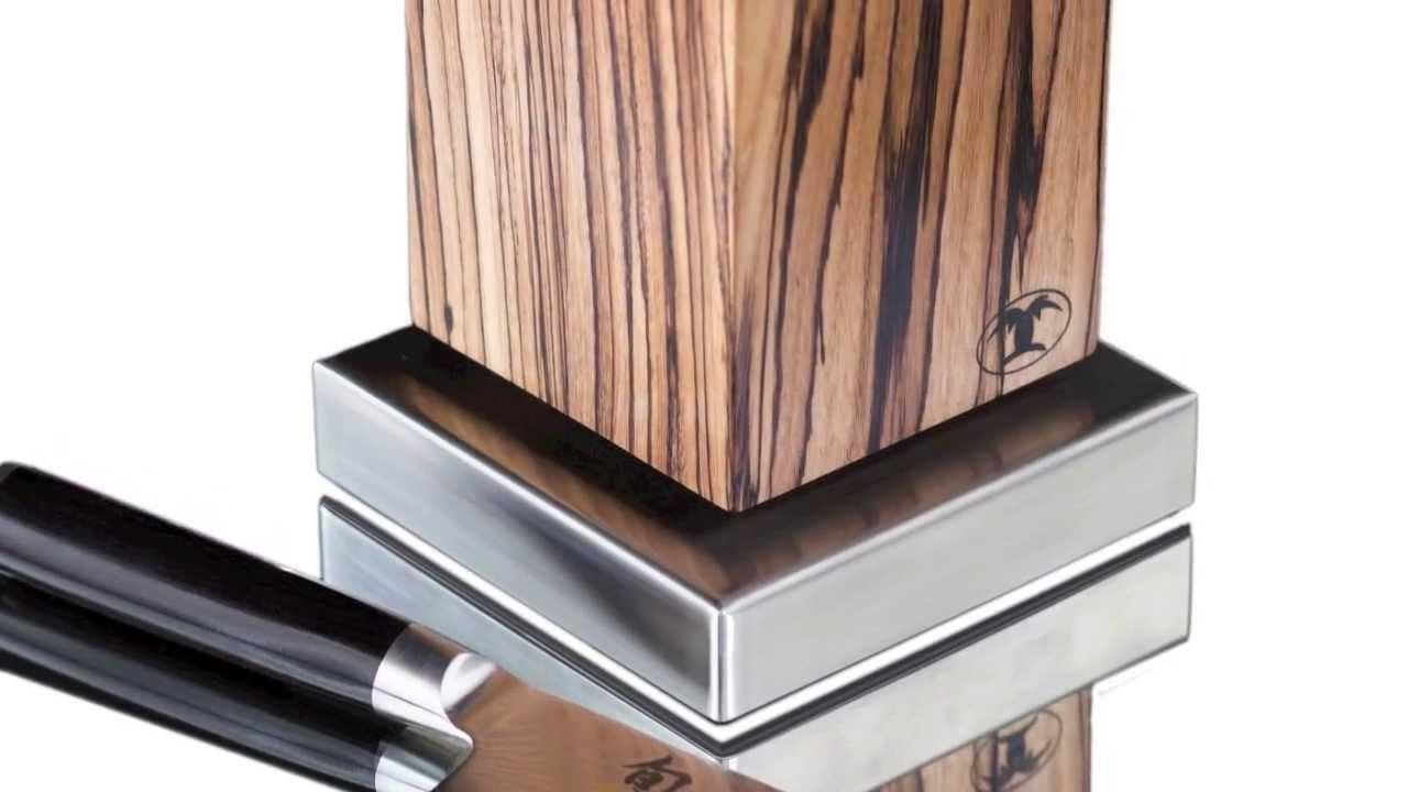 magnet messerblock von blockwerk by gepotex youtube. Black Bedroom Furniture Sets. Home Design Ideas