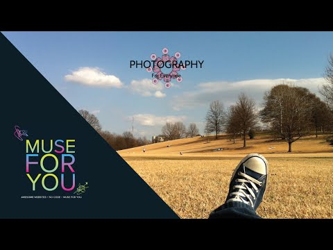 Creating a Photography Website | Adobe Muse CC | Edge Animate, Muse-Themes | Muse For You