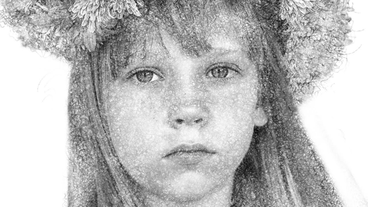 Photoshop tutorial transform photos into gorgeous pencil drawings technique 3 youtube