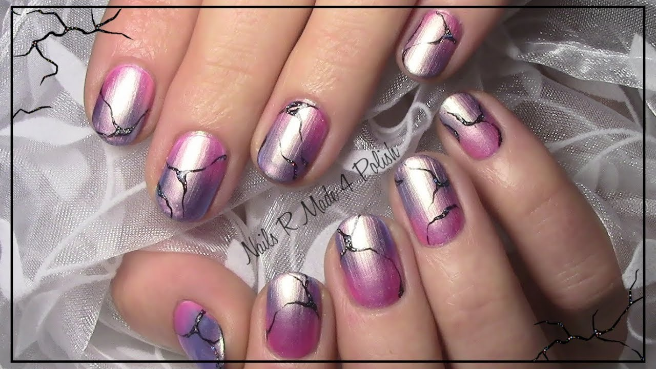 Einfaches Nageldesign Fur Anfanger Kurze Nagel Easy Nailart For