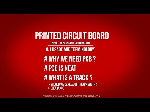 PCB | 0.1 Usage and Terminology