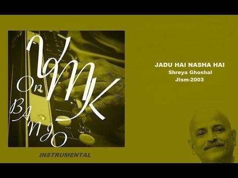 Jadu Hai Nasha Hai Instrumental Cover on Banjo Bulbul Tarang