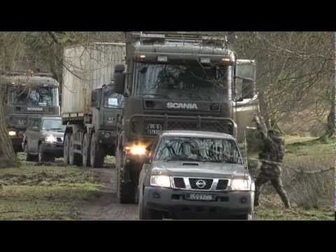 Defence Forces Transport Exercise