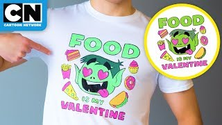 DIY Beast Boy Valentine's Shirt | LET'S CREATE
