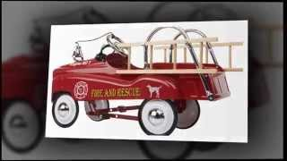 Radio Flyer Fire Truck Instep Fire Truck Pedal Car