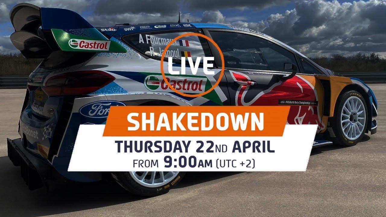 Shakedown LIVE - WRC Croatia Rally 2021