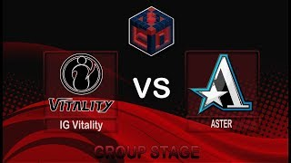 (LIVE DOTA2) IG Vitality  vs ASTER BO3 China Dota2 Professional League#Dota2 #DOTA2INDONESIA