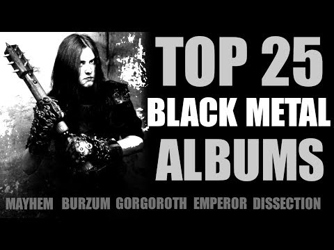 Top 25 Black Metal Albums
