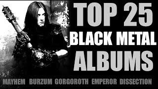 �������� ���� Top 25 Black Metal Albums ������