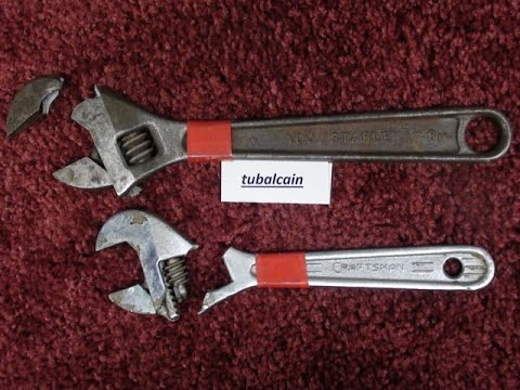 MYTH BREAKERS #1 (Pt 1 of 2) Use & Abuse of Crescent Wrenches tubalcain