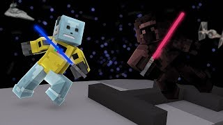 THE LAST JEDI FIVE NIGHTS AT FREDDYS MOVIE! Minecraft FNAF Christmas Adventure! Star wars!