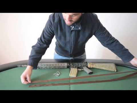 Rifle Sling DIY Backpack Style