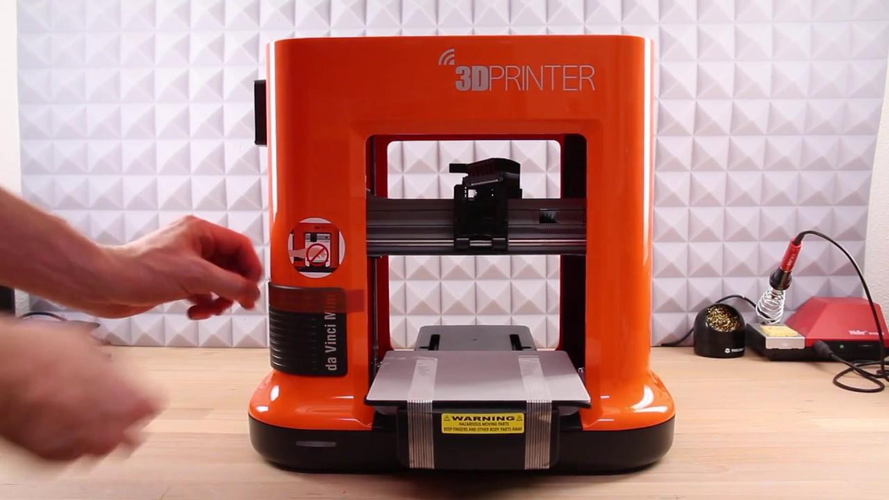 XYZprinting da Vinci Mini w 3D Drucker - Vorstellung & Test