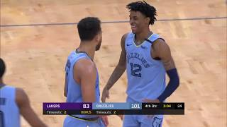Memphis Grizzlies vs Los Angeles Lakers | February 29, 2020