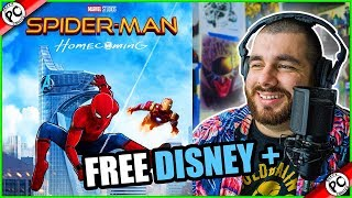 WATCHING SPIDER-MAN HOMECOMING FOR THE FIRST TIME 🎁 GIVEAWAY 🎁