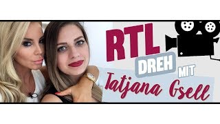 TATJANA GSELL, IHR LIPPENSTIFT UND ICH 💄 BACKSTAGE BEIM RTL DREH I Sed Melia