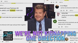 We Cannot Kidnap Reunite One Direction MP3