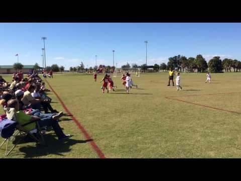 Satellite Beach Lightning U9 Girls Soccer at Space Coast United in Viera
