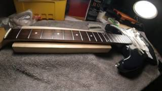 How to restore a fretboard that has never been cleaned