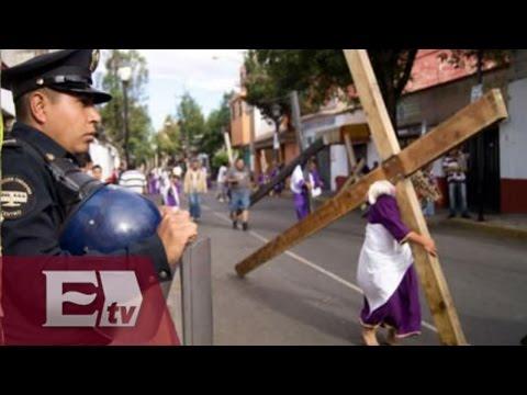 Así se vivió la Pasión de Cristo en Iztapalapa / Vianey Esquinca