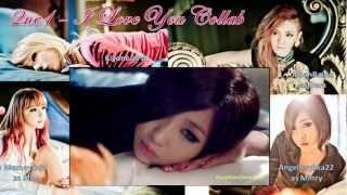 [Collab] 2NE1 - I LOVE YOU