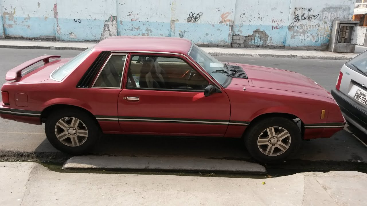 Souvent Ford Mustang 1981 ¡¡De Venta!! - YouTube GF74