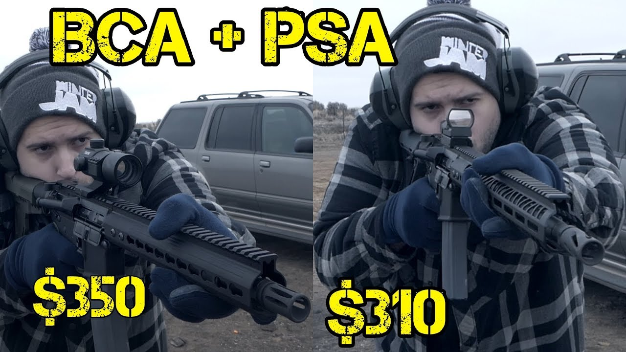 Cheapest AR 15 Pistol/ Rifle Possible - Bear Creek Arsenal Uppers+ Palmetto  State Armory Lowers $310