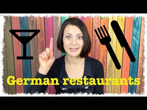 REAL GERMAN FOR BUSINESS TRAVELERS 3 - Eating at a German Restaurant | #RealGerman