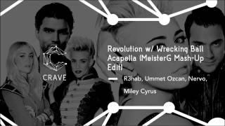 Revolution w/ Wrecking Ball Acapella (MeisterG Mash-Up Edit)