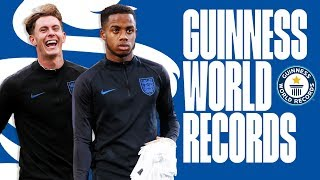 Young Lions Guinness World Record Challenge | Sessegnon, Henderson & Clarke-Salter | England U21