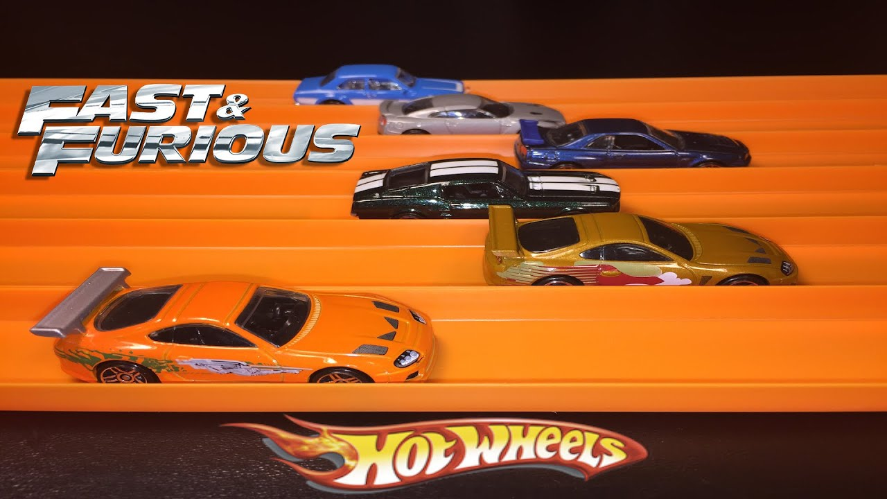 Hot Wheels Fast and Furious 6Car Race  YouTube